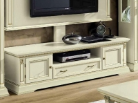 Camel Treviso Day White Ash Italian 2 Door 1 Drawer Maxi TV Cabinet