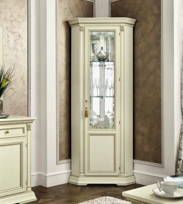 Camel Treviso Day White Ash Italian 1 Right Door Corner Unit