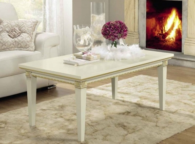 Camel Treviso Day White Ash Italian Coffee Table