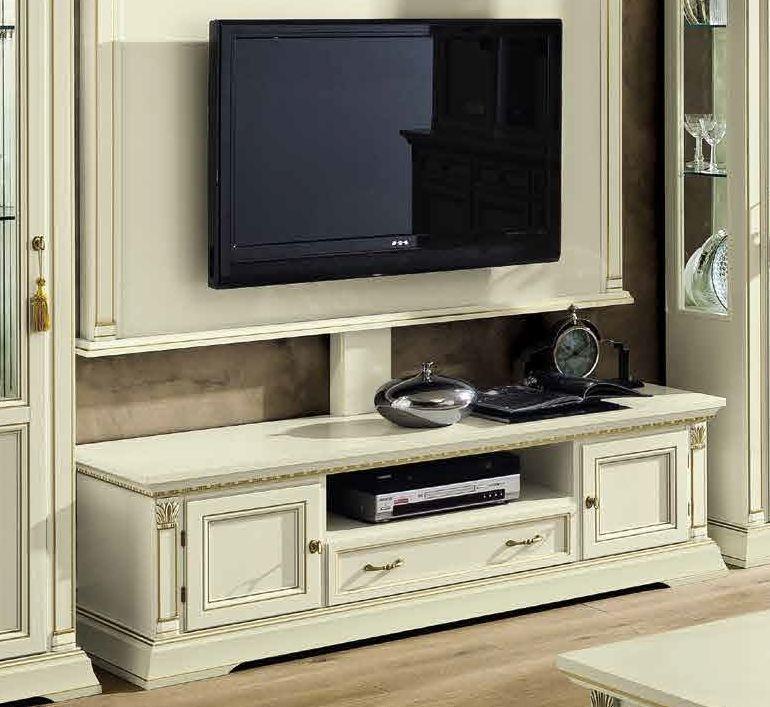 Camel Treviso Day White Ash Italian Maxi TV Cabinet