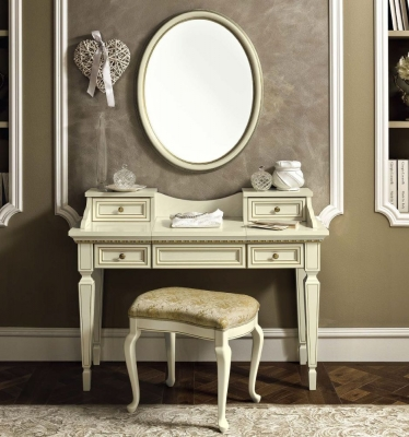 Camel Treviso Night White Ash Italian Writing Desk