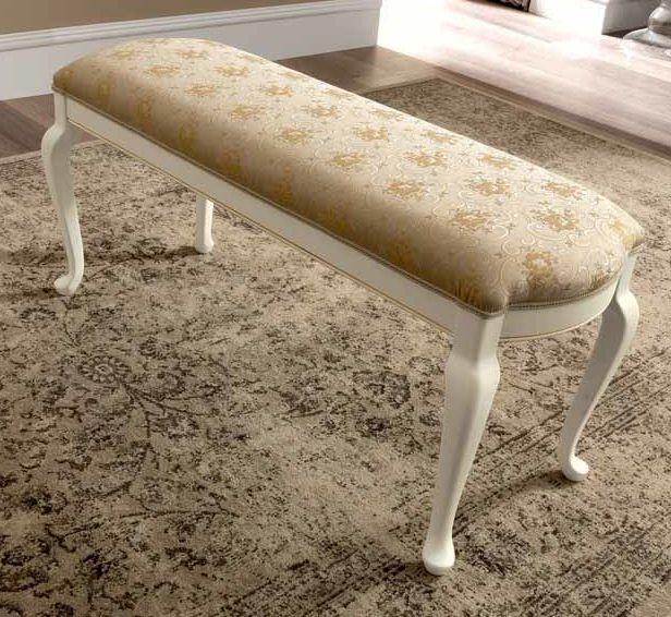 Camel Treviso Night White Ash Italian Broccatello Eco Bench