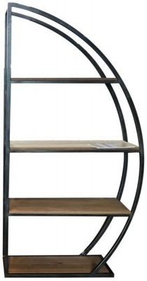 Carlton Additions Sail Metal Bookcase
