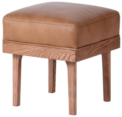 Carlton Additions Wilton Leather Stool