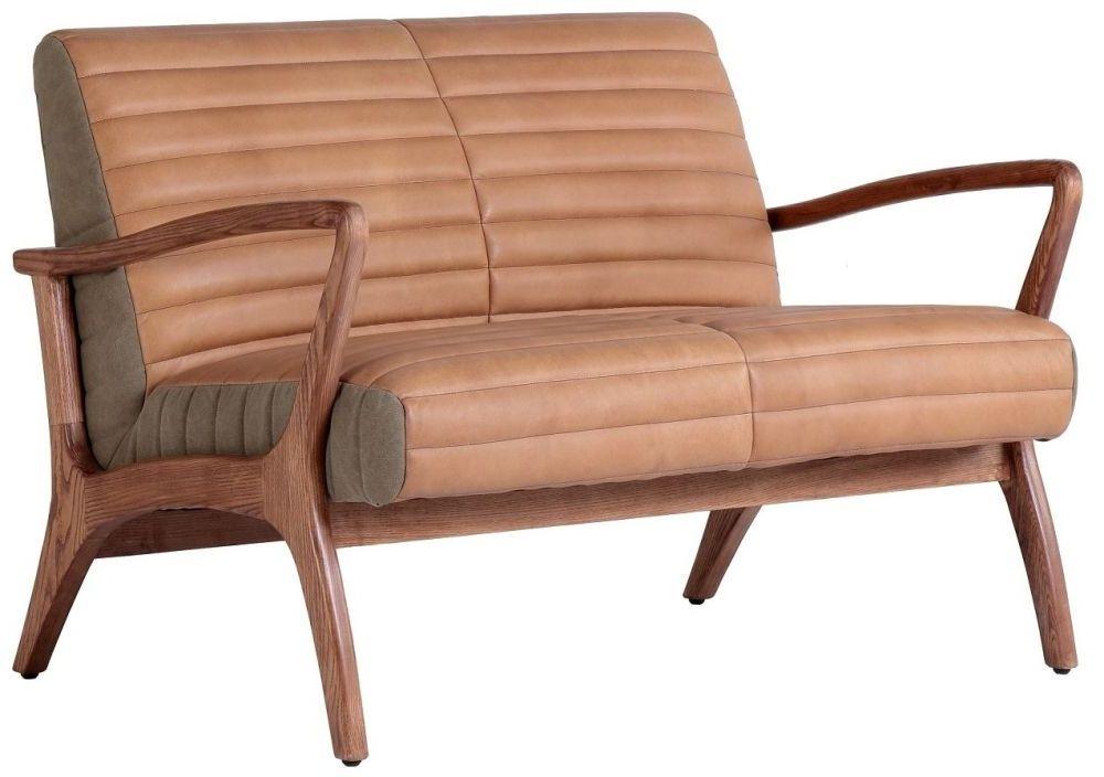 Carlton Additions Wilton Leather 2 Seater Sofa