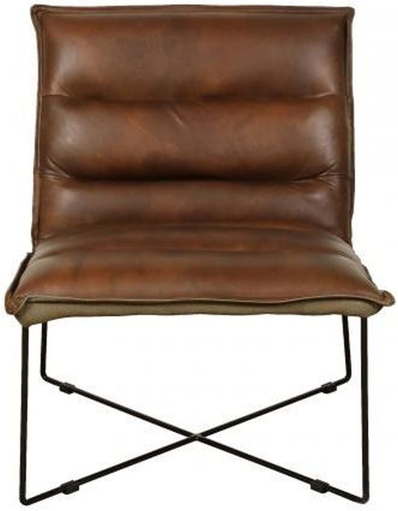 Carlton Additions Franco Brown Leather Chair