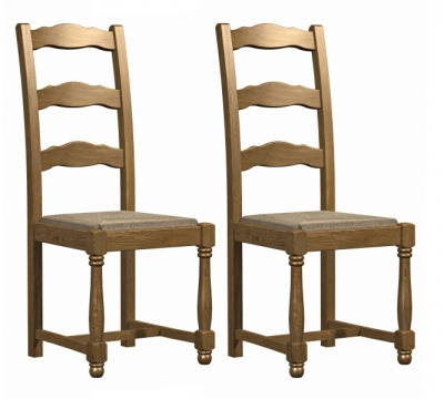 Carlton Copeland Oak Dining Chair (Pair)