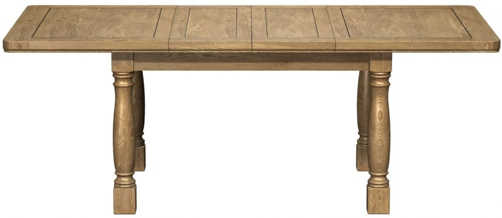 Buy Carlton Copeland Oak Dining Table Extending 140cm Online CFS UK