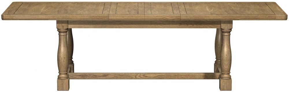 Carlton Copeland Oak Rectangular Dining Table - Extending 210cm