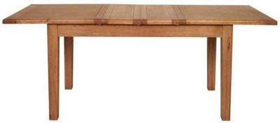 Carlton Rustic Manor Dining Table - Extending 180cm
