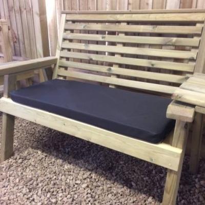 Churnet Valley Black Double Waterproof Seat Pads