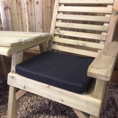 Churnet Valley Black Single Waterproof Seat Pads