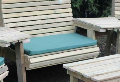 Churnet Valley Green Triple Seat Pads