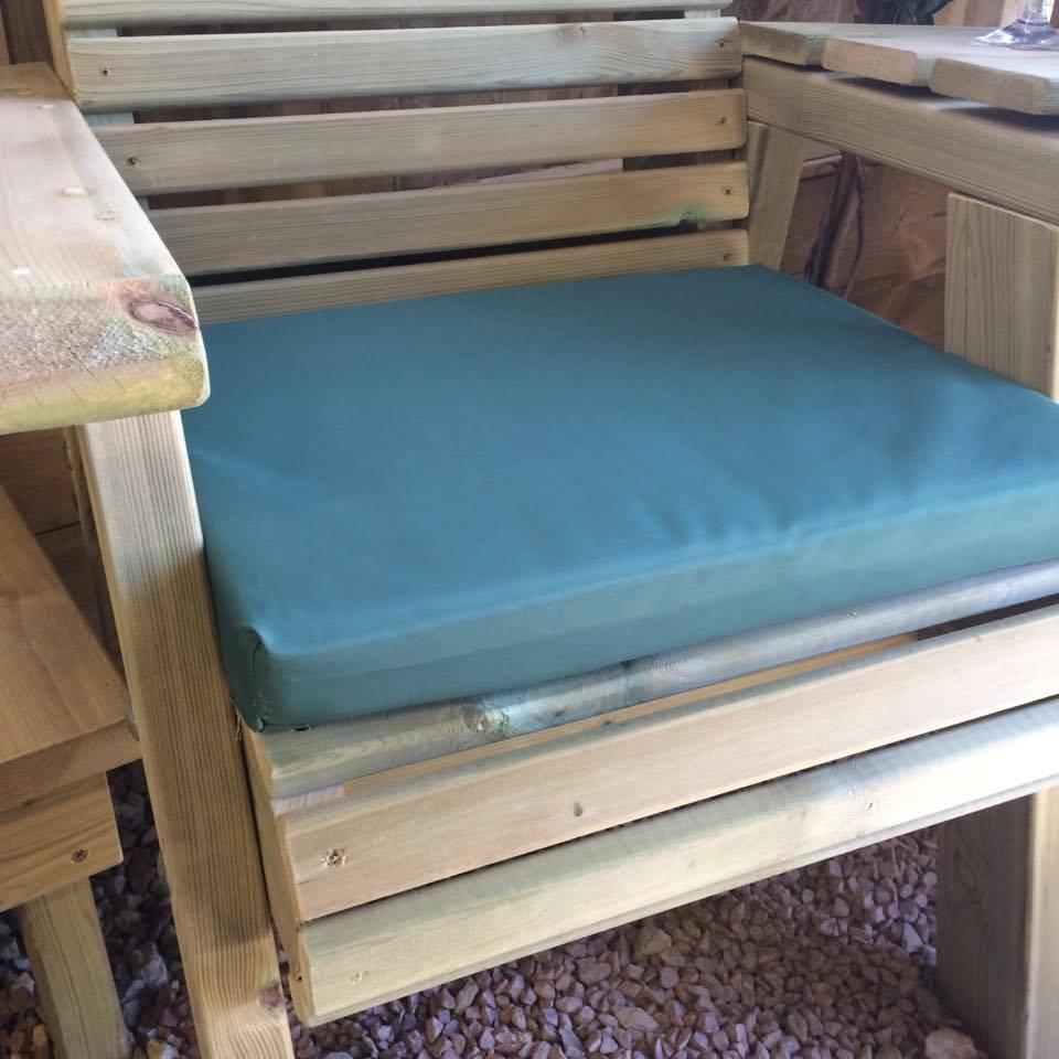 Churnet Valley Green Single Waterproof Seat Pads