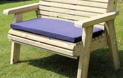 Churnet Valley Navy Double Waterproof Seat Pads