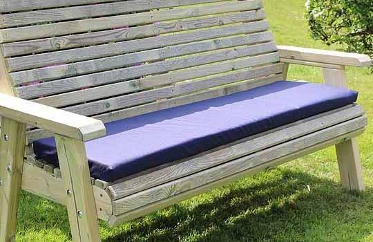 Incredible Churnet Valley Navy Triple Waterproof Seat Pads Cjindustries Chair Design For Home Cjindustriesco