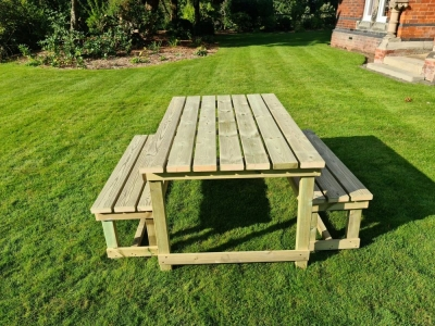 Churnet Valley Butchers Garden Table Set