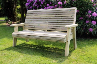 Churnet Valley Ergo 3 Seater Garden Bench