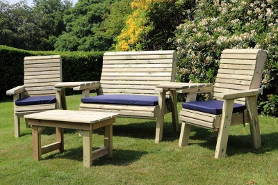 Churnet Valley Ergo Garden Multi set with Chair and Bench