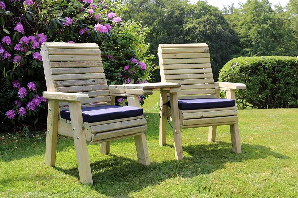 Churnet Valley Ergo Companion Love Seats