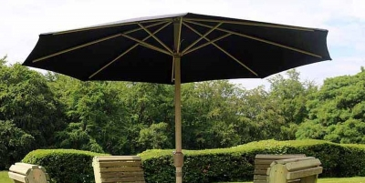 Churnet Valley Deluxe Green Parasol