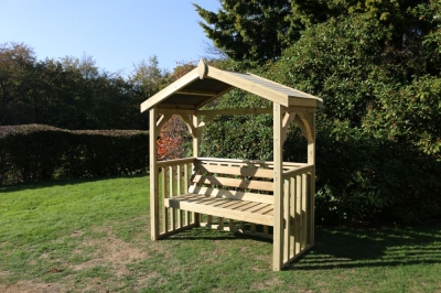 Churnet Valley Anastasia 3 Seater Garden Arbour
