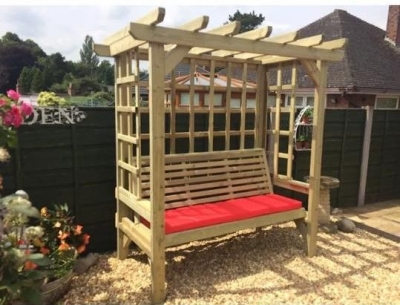 Churnet Valley Beatrice 3 Seater Garden Arbour