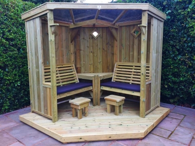 Churnet Valley Four Seasons Garden Room without Decking