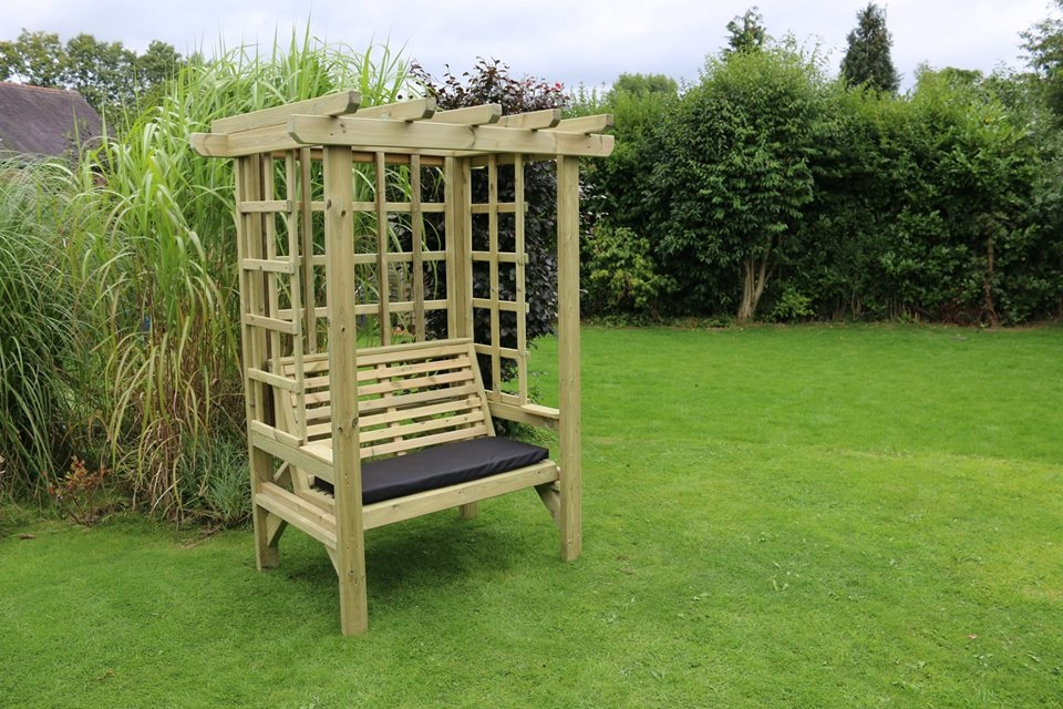 Churnet Valley Beatrice 2 Seater Garden Arbour