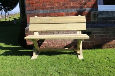 Churnet Valley Ashcome 2 Seater Garden Bench