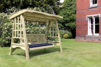 Churnet Valley Antoinette 3 Seater Garden Swing
