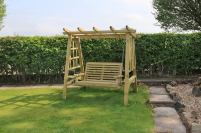 Churnet Valley Pergola 2 Seater Garden Swing
