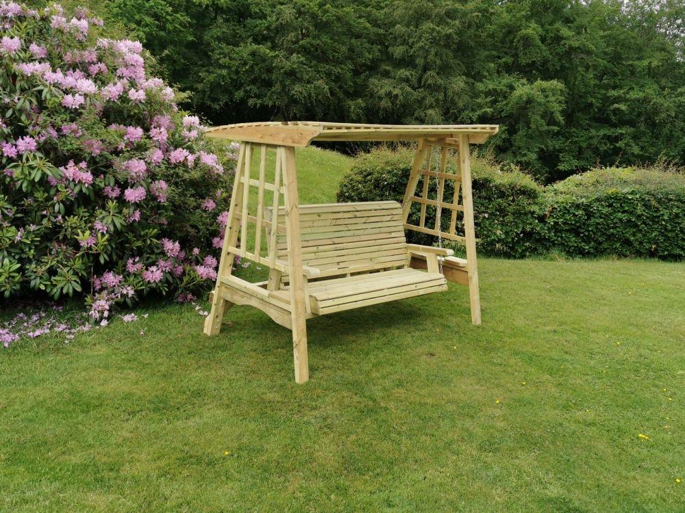 Churnet Valley Antoinette 3 Seater Garden Swing