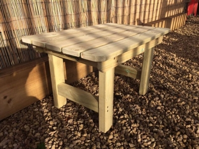 Churnet Valley Wooden Outdoor Coffee Table