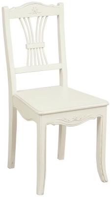 Alyssia Cream Painted Bedroom Chair