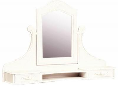 Alyssia Cream Painted Mirror