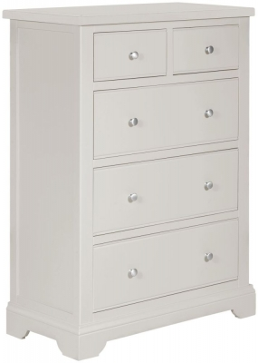 Berkeley Grey Painted 2+3 Drawer Chest