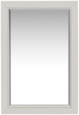 Berkeley Grey Painted Rectangular Wall Mirror - 60cm x 90cm