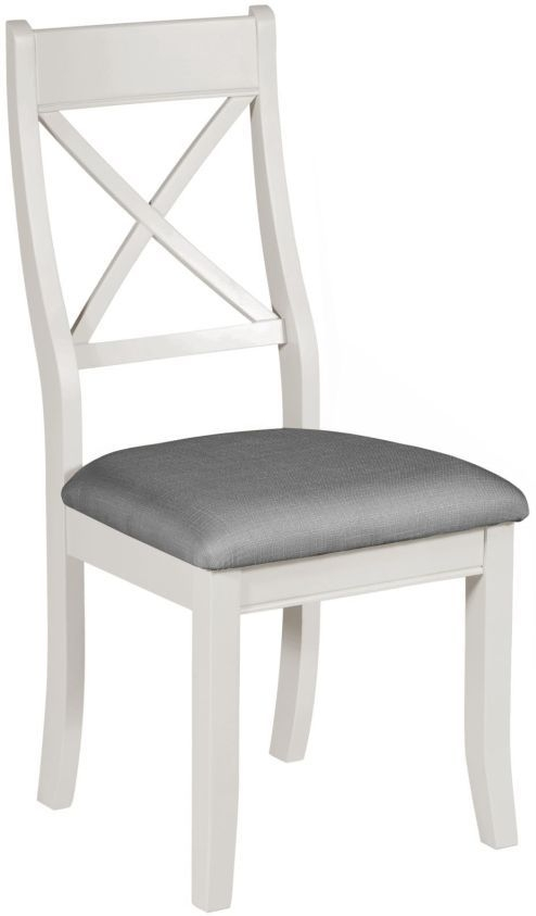 Berkeley Grey Painted Bedroom Chair