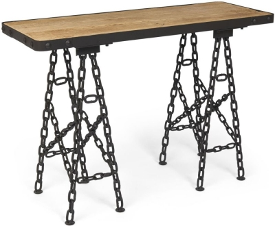Boston Console Table with Chain Legs