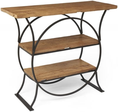 Boston Console Table with Shelves