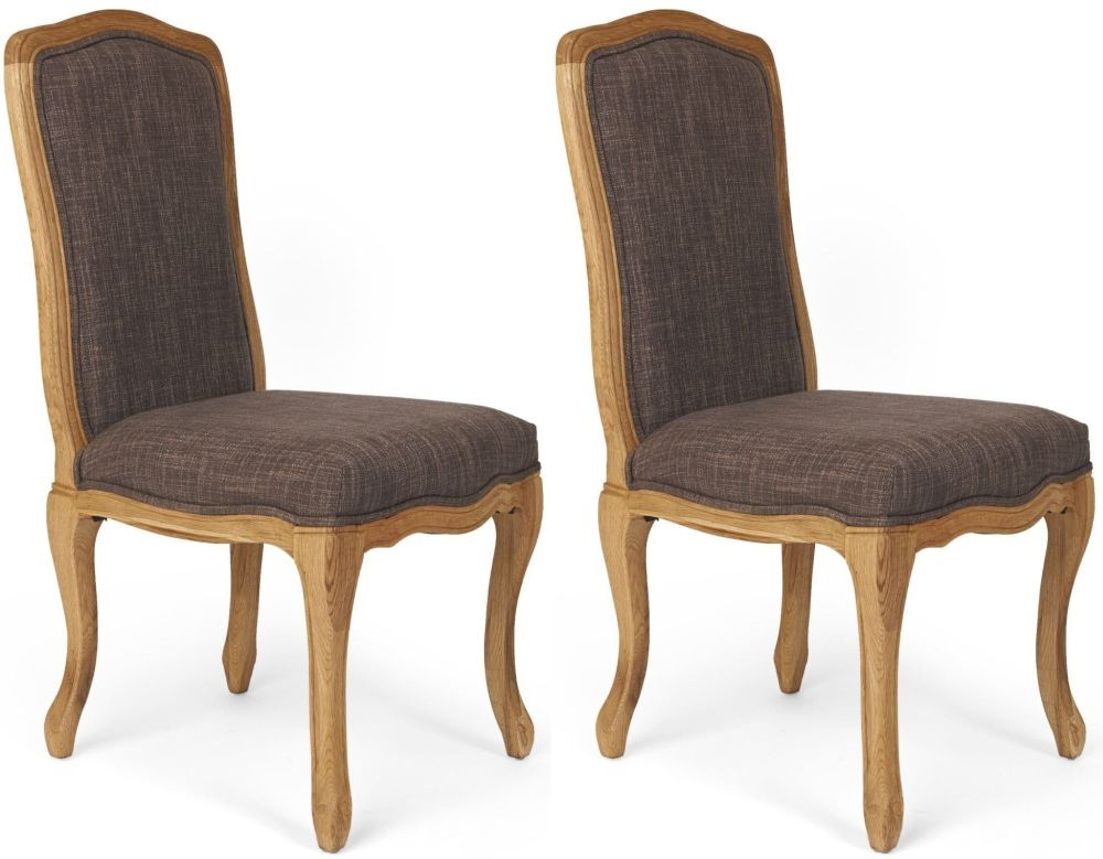 Buy boston upholstered dining chair pair online cfs uk