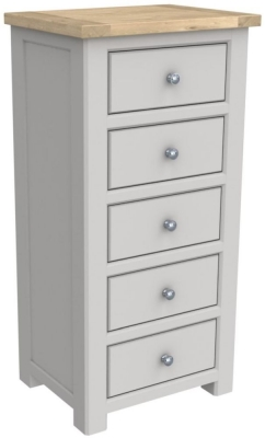 Bretagne Painted 5 Drawer Tall Chest