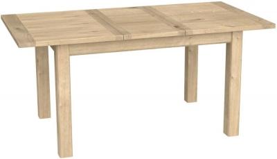 Bretagne Oak 125cm-165cm Extending Dining Table