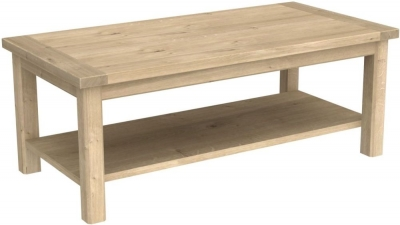 Bretagne Oak Coffee Table