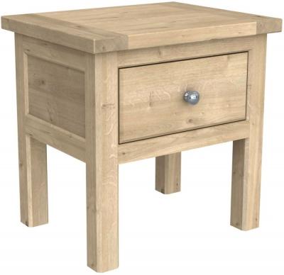 Bretagne Oak Lamp Table