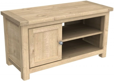 Bretagne Oak TV Cabinet