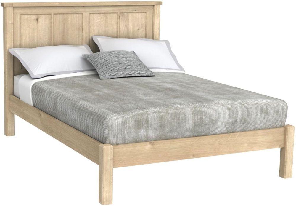 Bretagne Oak Bed