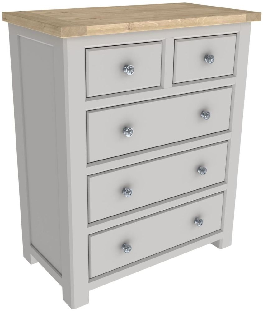 Bretagne Painted 2+3 Drawer Chest