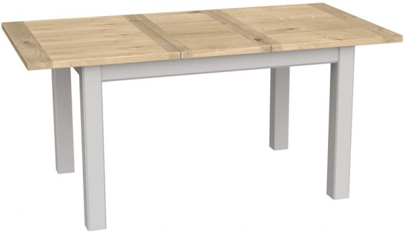 Bretagne Painted 125cm-165cm Extending Dining Table